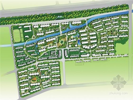 [杭州]生态文化高档居住区环境规划设计方案