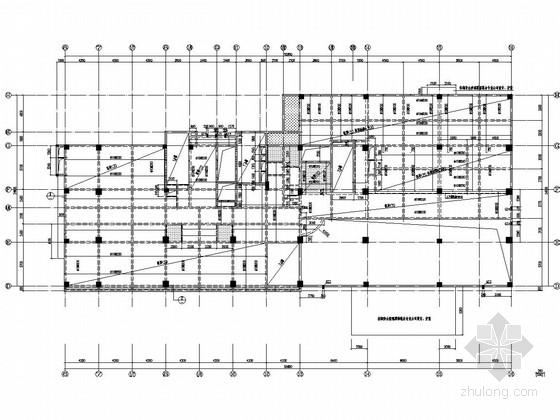 15层框架结构高层酒店梁板结构图