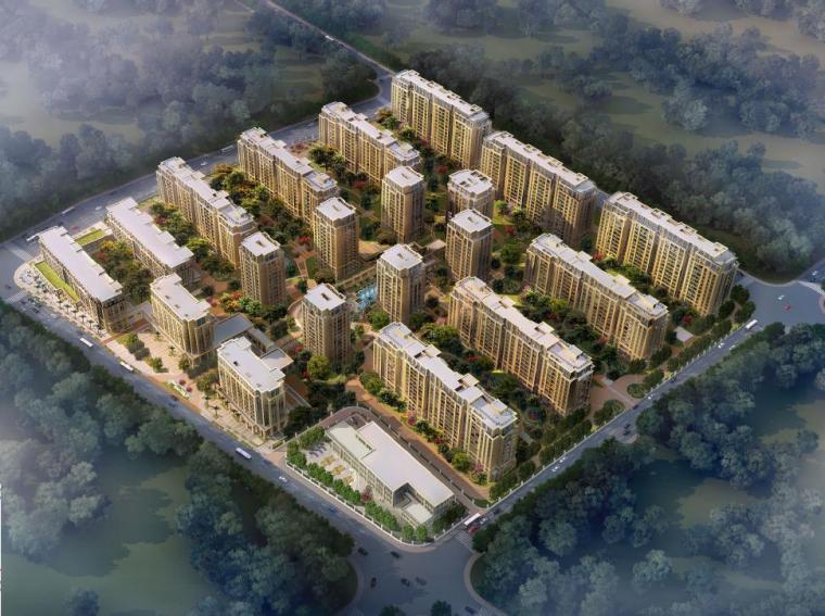 [浙江]高层新古典主义风格塔式住宅楼建筑设计方案文本
