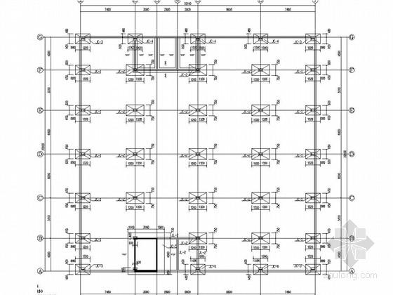 二层门式钢排架厂房结构施工图(含建施、2013年7月出图)