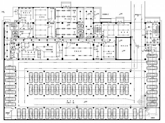 [湖北]医院门诊住院综合楼强弱电施工图