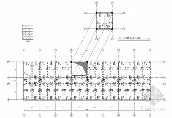 8层框架REVIT全套结构施工图