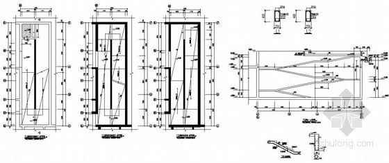 [江苏]地下自行车车库坡道节点构造详图