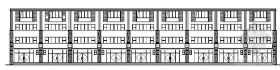 山东香港五金家居城B13-2块改造工程建筑施工图