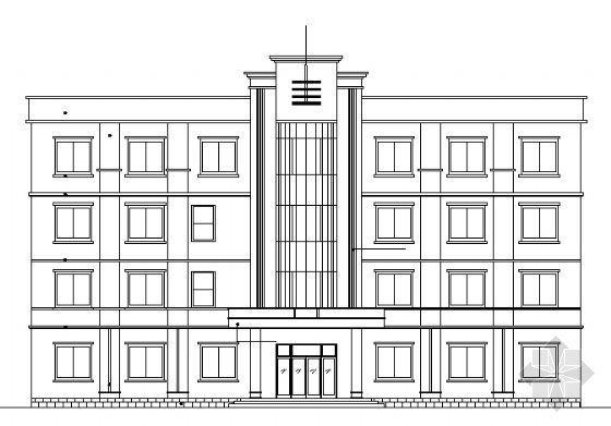 某法院四层办公楼建筑施工图