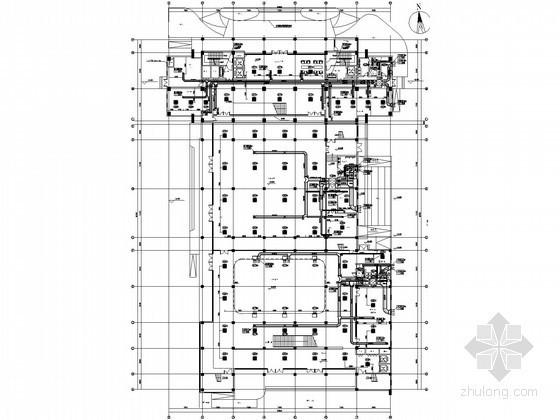 [安徽]高层办公楼空调通风设计施工图(知名院设计)