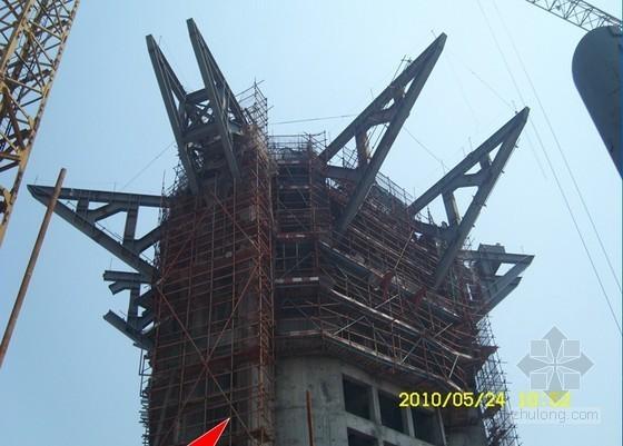 [江苏]超大钢结构球体超高空吊装创新方法汇报(300多米高空)