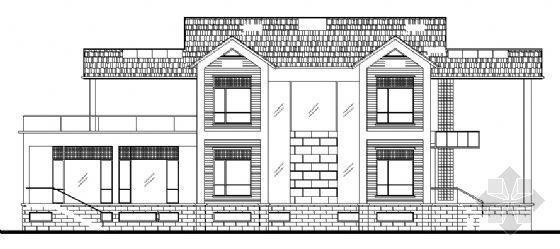 某二层别墅建筑结构水电施工套图