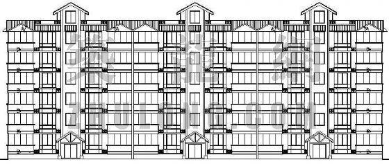 某多层住宅建筑施工图(全套)