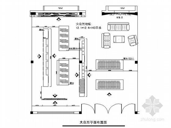 156平方品牌地板展示店装修图(含实景)