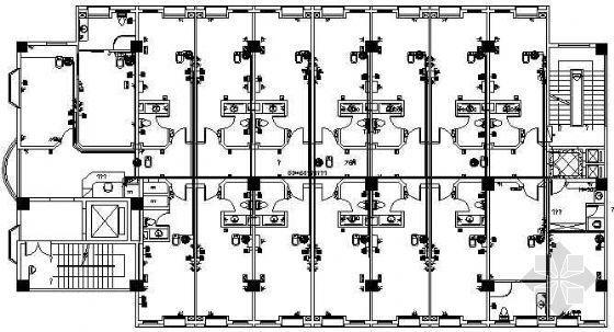 酒店弱电系统工程施工平面图