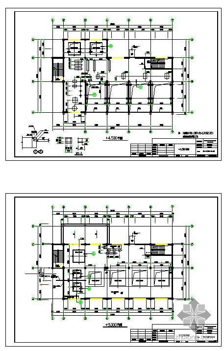 某聚合厂房建筑结构图