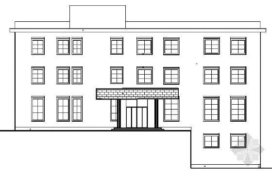 某小区三层会所楼建筑施工图