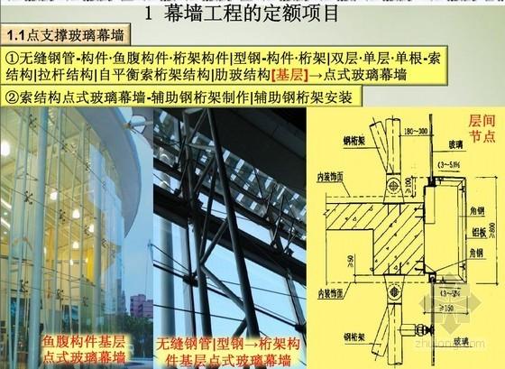 幕墙工程量计算图解讲义(玻璃幕墙、金属板幕墙)32页