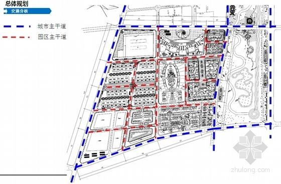 现代风格国际汽车中心设计分析图