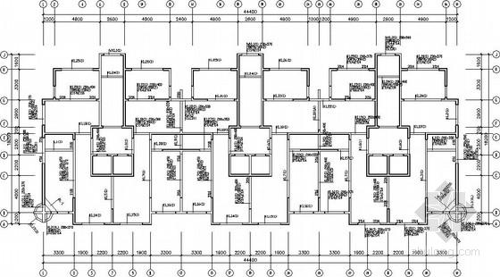 18层框架剪力墙住宅结构施工图(筏板、地下车库)