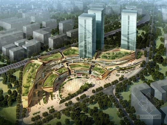 [云南]31层公寓式办公楼及商业中心建筑设计方案文本(两种方案)