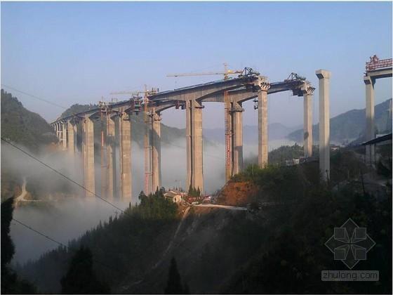 百米高墩刚构大桥施工关键技术安全质量控制47页