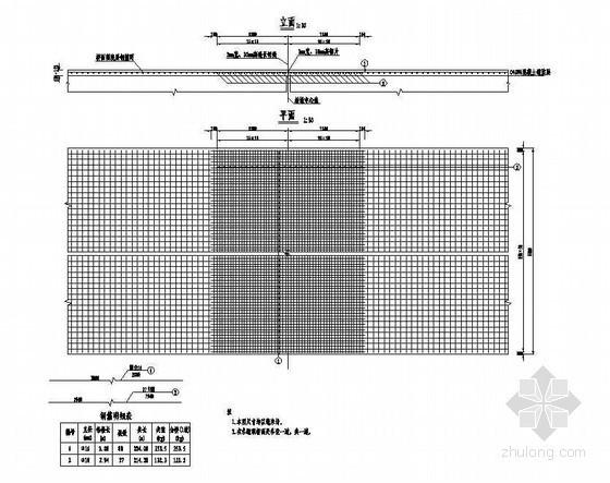 2×8米钢筋混凝土空心板桥面连续钢筋构造节点详图设计