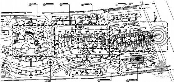 江西南昌某居住区环境景观设计施工图