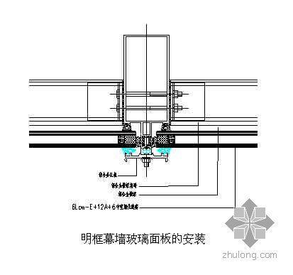 南京市某幕墙工程施工组织设计(玻璃、石材、金属幕墙)