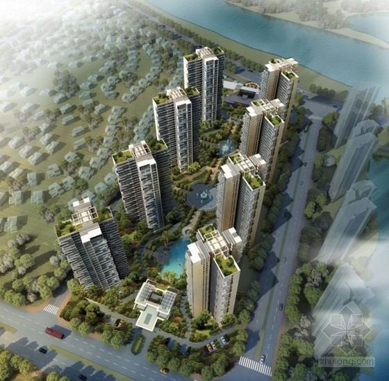 [广东]高层住宅区规划及单体方案文本(含两个方案 附图丰富)