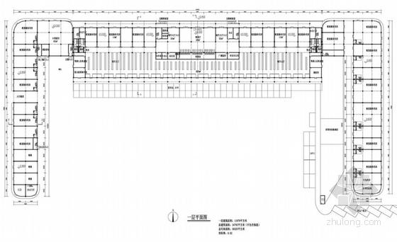 客运汽车总站平面图