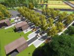 [上海]安亭新镇大型体育主题公园景观设计方案设计(健康社区)