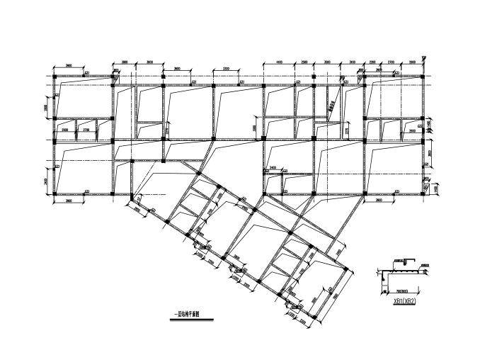 [湖南]4层框架结构幼儿园结构施工图(CAD、24张)