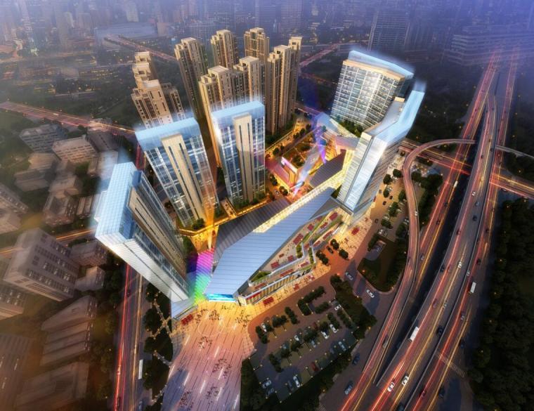 [福建]厦门龙湖商业综合体建筑模型设计