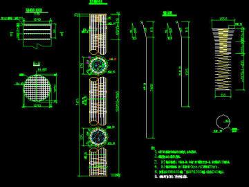 [知名大院]铁路单线双线不同跨径预应力简支箱梁现浇连续箱梁高架桥设计图411张CAD