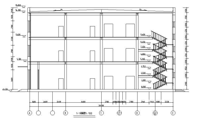 某3层百货大楼设计(2820平,含计算书、建筑图,结构图)_3
