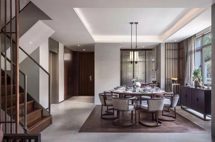 280m²新中式别墅,演绎东方极致美学!_10