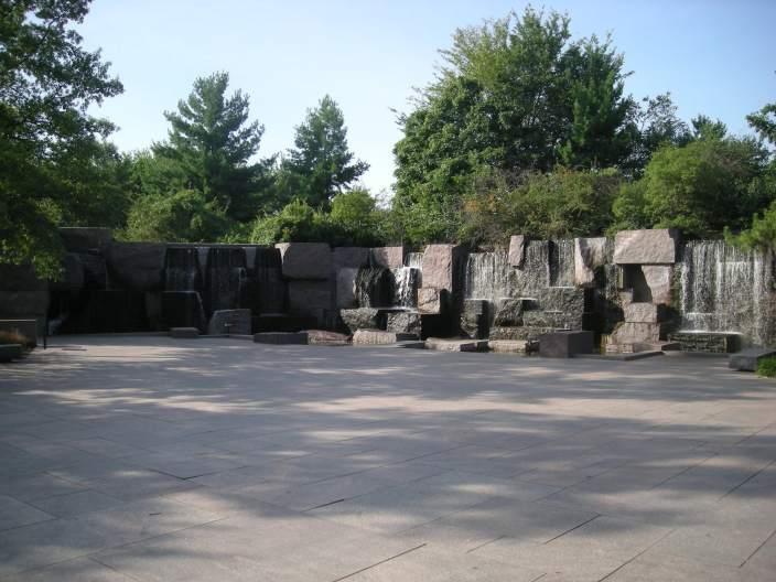 美国罗斯福纪念馆