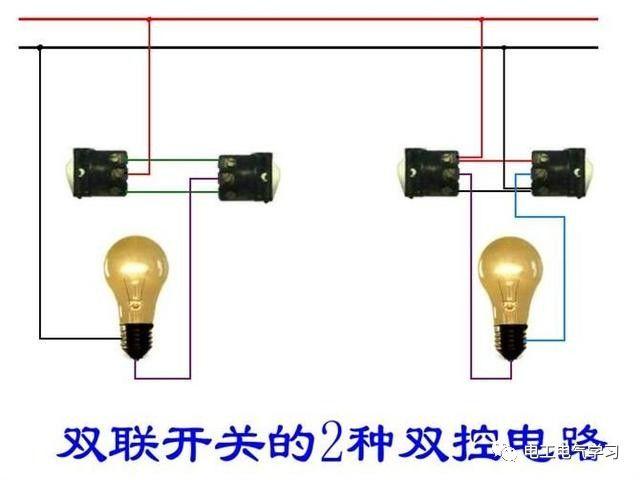 【电工必备】开关照明电机断路器接线图大全非常值得收藏!_24
