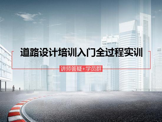 道路设计培训入门全过程实训(讲师答疑/鸿业纬地软件教程/施工图设计培训)