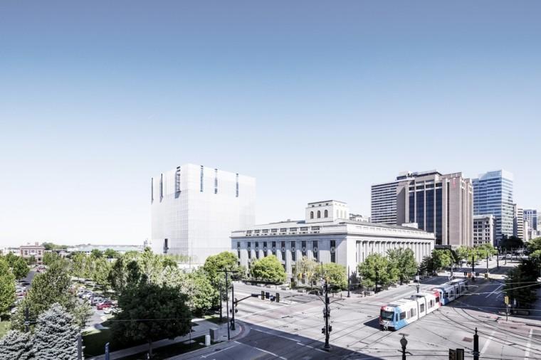 公正与秩序的象征,美国盐湖城法院