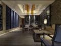 华粹元年中式餐厅室内装修效果图方案(30张)
