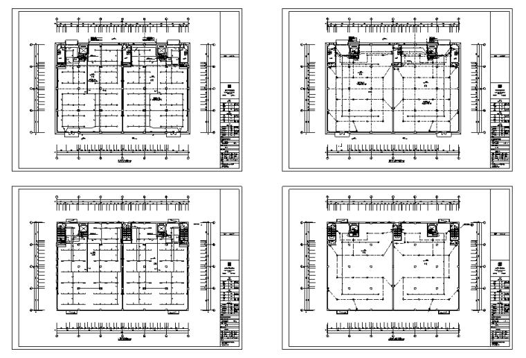 [浙江]中小企业创业园工业园区电气全套施工图(17年)_2