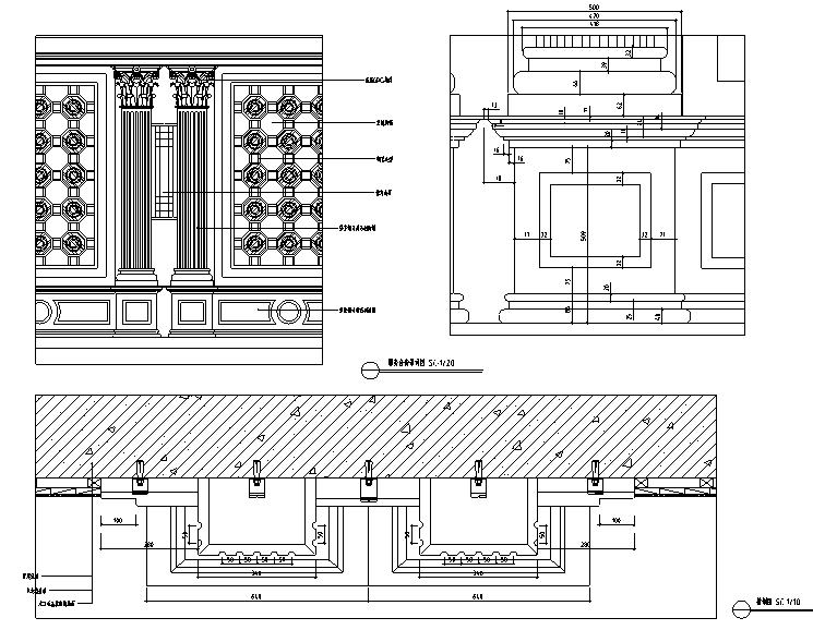 【重庆】现代奢华国际大酒店设计施工图(附效果图)_1