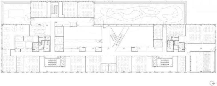 拥有一个霸道中庭的荷兰UTRECHT应用科学大学教学楼/SHL_24