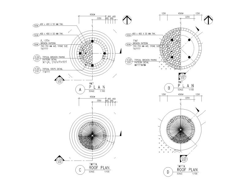 精选景观亭廊施工图(50套)-精选景观亭廊施工图(30套)14