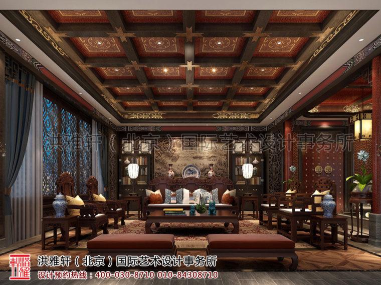 北京古典中式装修茶楼会所奢华的古典音符_1