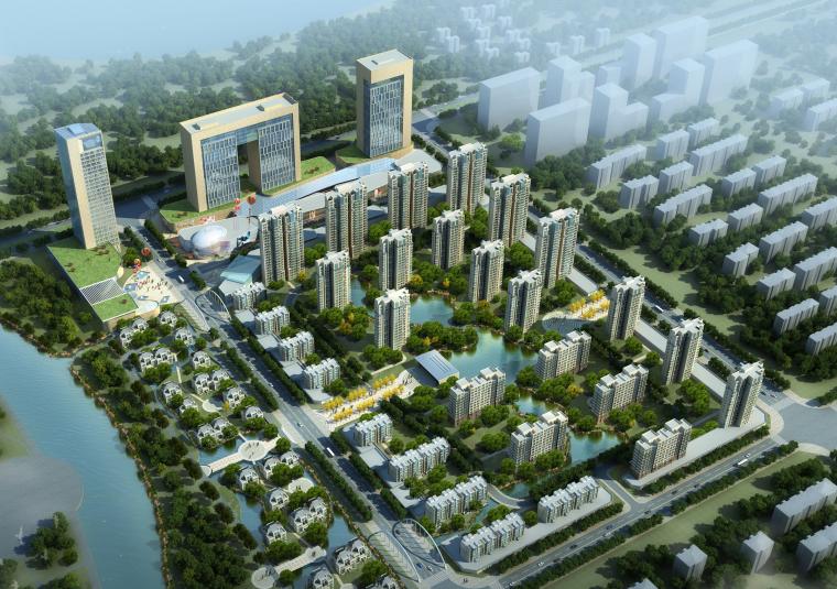 [辽宁]昌图金月湾西侧三地块规划及城市综合体设计方案文本(PDF)