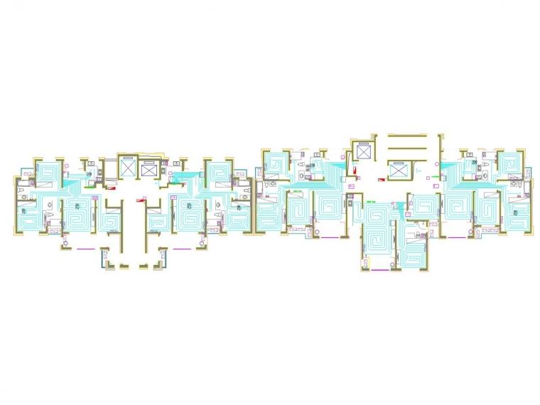 [山东]高层住宅楼采暖通风空调系统设计施工图