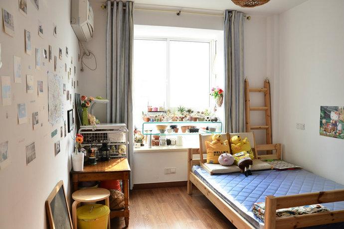 120平3房2厅混搭风格儿童房装修效果图