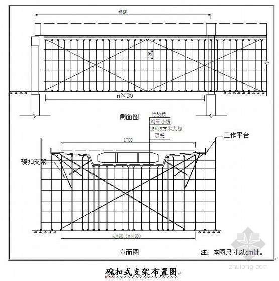 立交桥工程满堂支架搭设方案