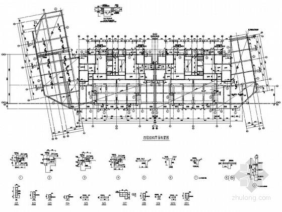 [四川]地上32层部分框支抗震墙结构商住楼结构施工图(地上部分 含转换层)