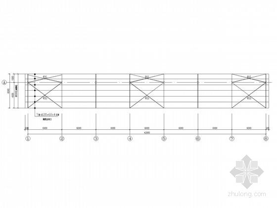 钢结构汽车棚结构施工图