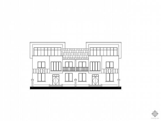 [河南新农村]某二层坡顶住宅方案图